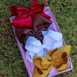 school bow box, bow box, monthly bow box, bow box collection, school bows