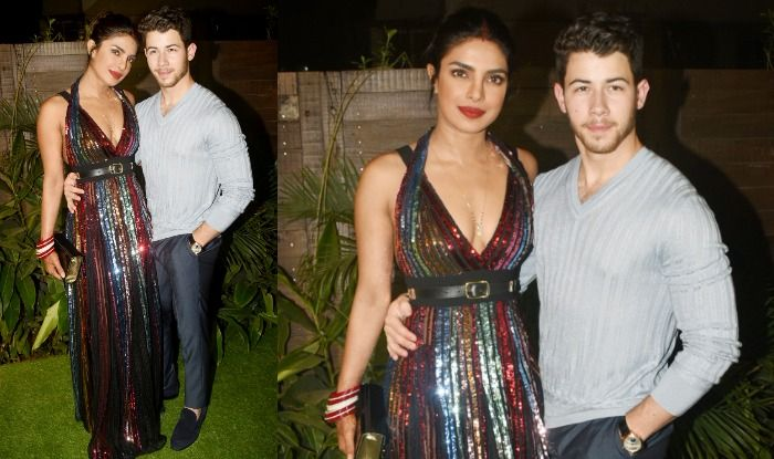 Priyanka Chopra and Nick Jonas made an appearance at the Bumble app launch party in India post wedding. Here are the pictures!