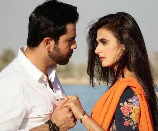 Junaid Khan and Hira Mani
