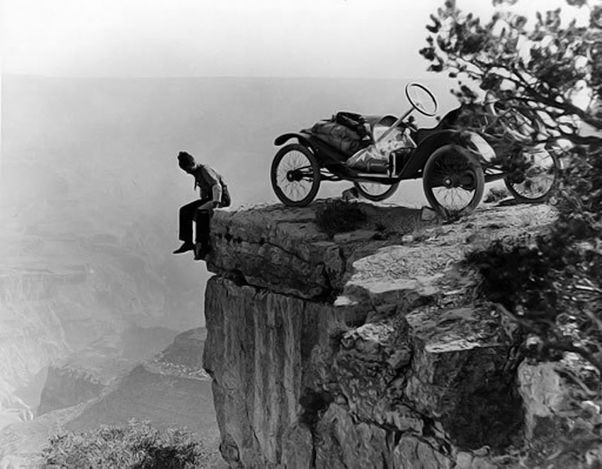 Grand Canyon Tourist 1914