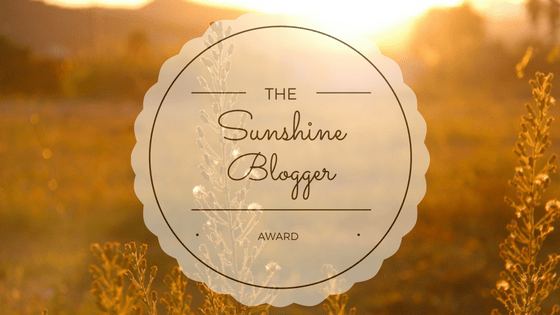 the sunshine blogger award part 2