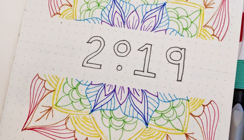 2019 – The Year of Me
