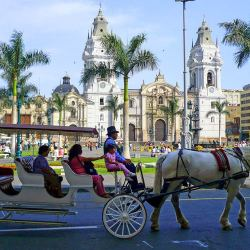 Plaza-de-Armas-Lima Cheap places to travel in december