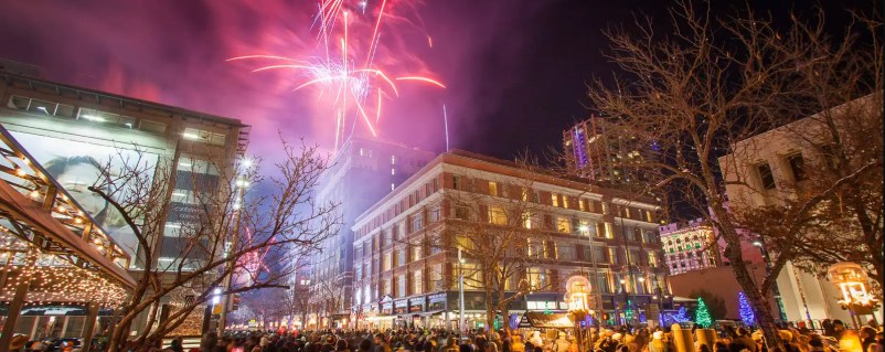 america's best cities for new years eve - Denver