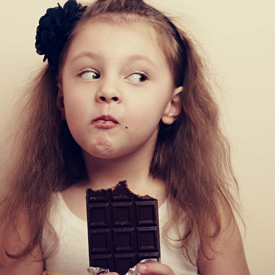 Ciocolata pentru copii: Drog sau aliment?
