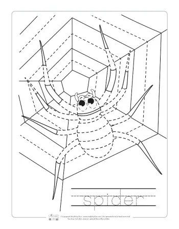 Halloween Tracing Worksheets Itsy Bitsy Fun