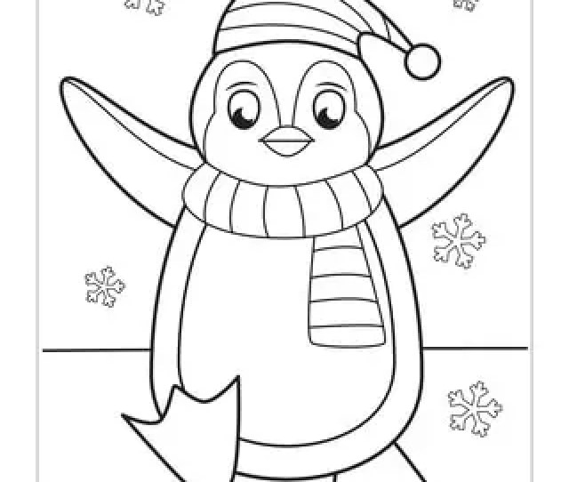 Winter Coloring Pages Itsy Bitsy Fun