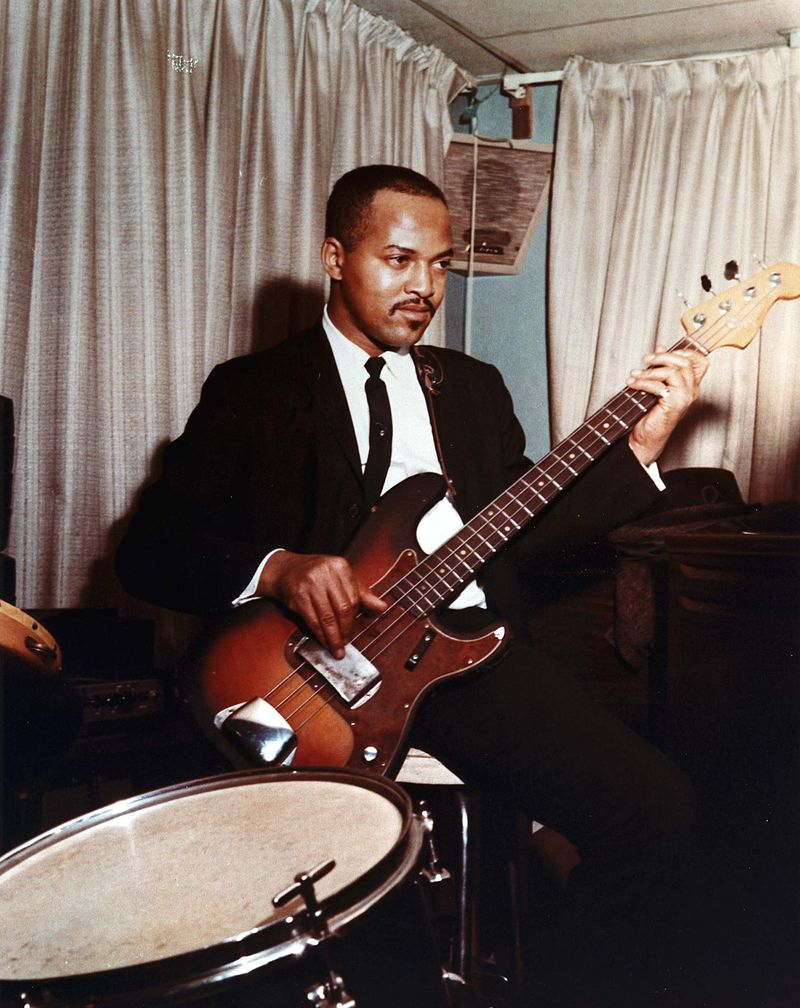 James Jamerson plucks his beloved Funk Machine.