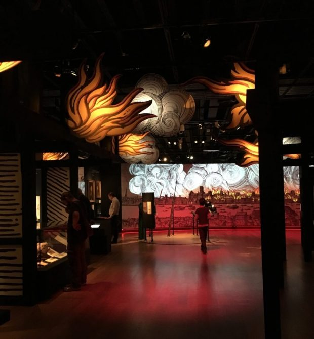 Fire! Fire! exhibition at Museum of London