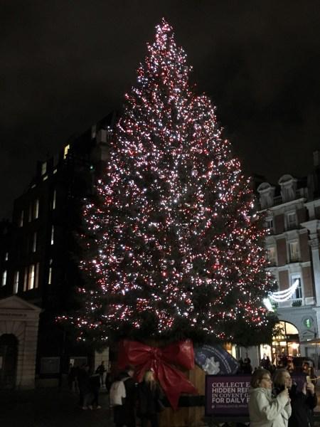 London Christmas tree