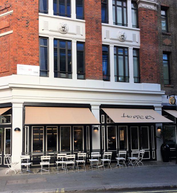 Hoppers restaurant