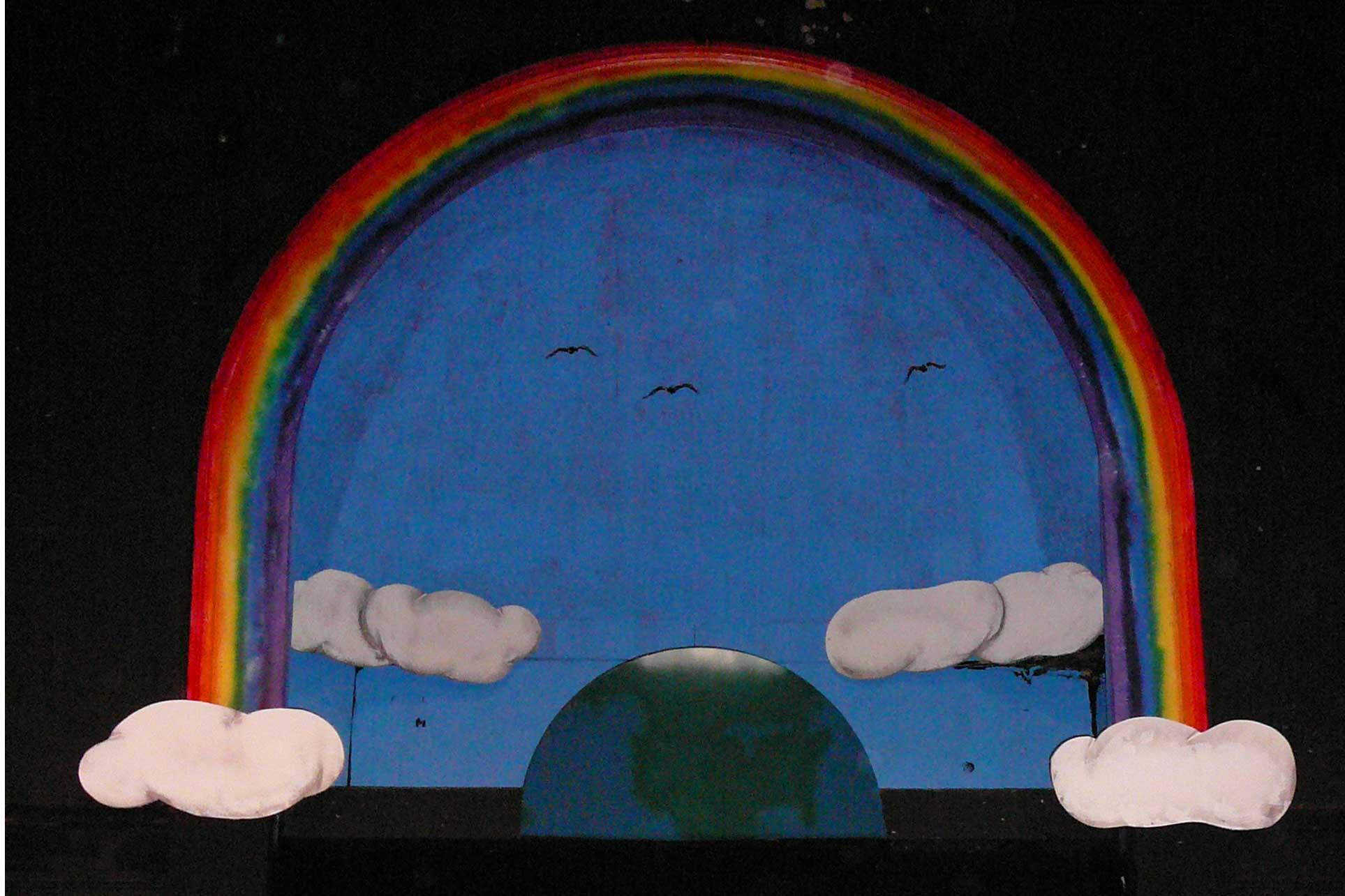 Rainbow backdrop