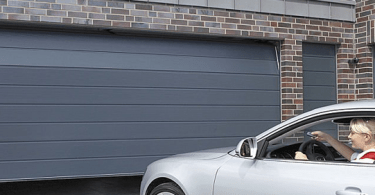 porte de garage sectionnelle électrique
