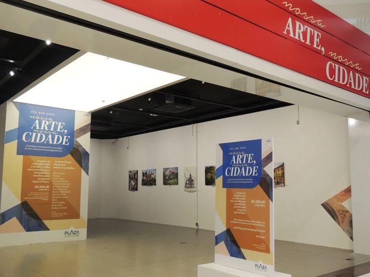 Plaza Shopping lança exposição em homenagem aos 409 anos de Itu