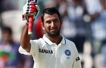 pujara double hundred