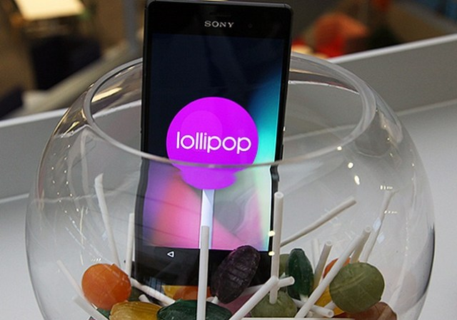 sony xperia z3 running android lollipop blog