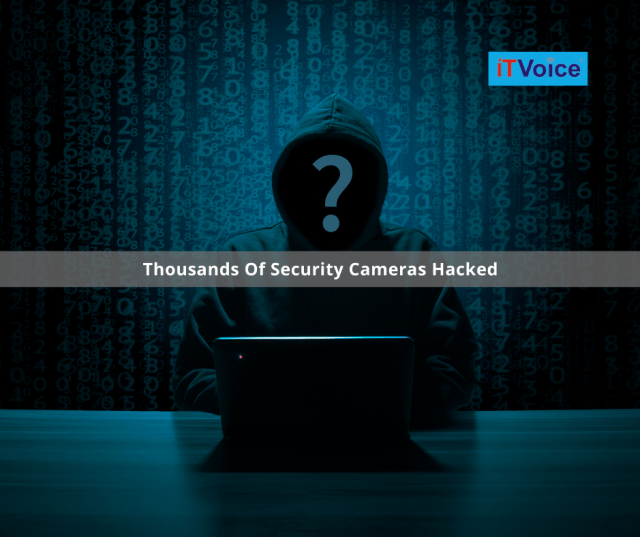 Thousands Of Security Cameras Hacked Exposing The Vulnerabilities Of Cyberspace