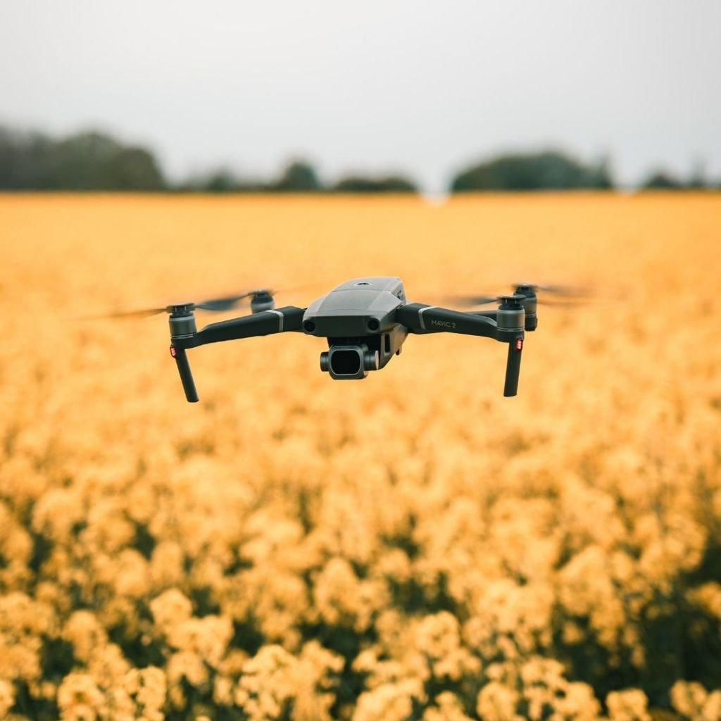 Impact of drone delivery on sustainability and environment