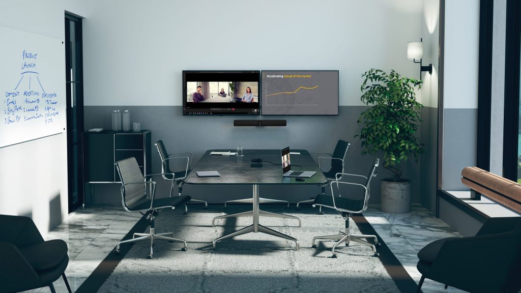 PanaCast 50 video bar for insight driven collaboration in the hybrid world