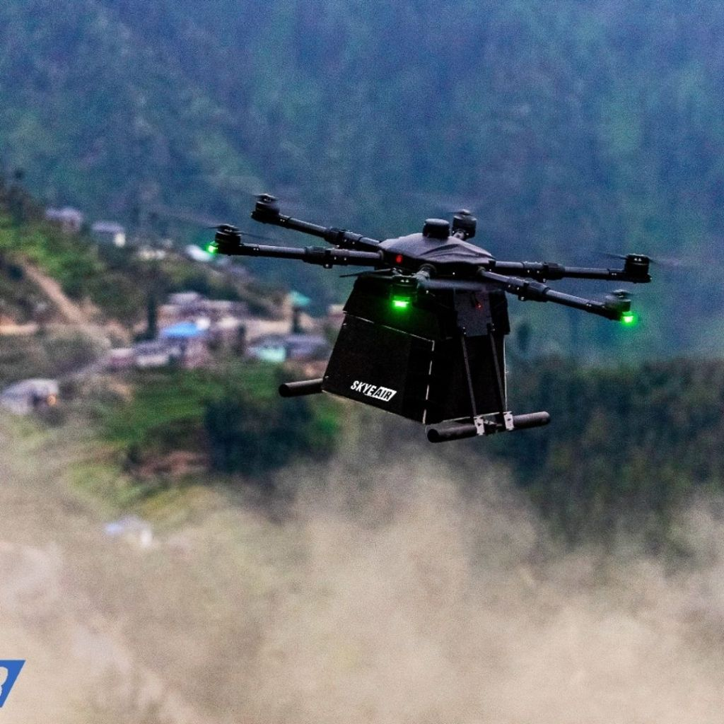 Drone delivery start-up Skye Air Mobility is announcing its collaboration with AirGo Design by becoming a member of the Drone Logistics Ecosystem