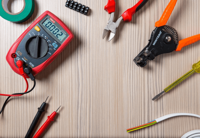 electrical wiring tools