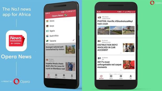 Image result for Opera launches 'Opera News Lite' for Devices With limited Data Storage Capabilities