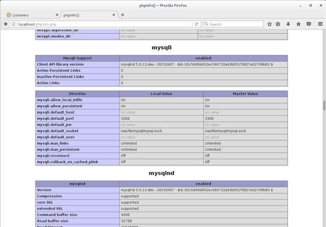 Install OpenLiteSpeed on CentOS 7 - OpenLiteSpeed MySQL Support