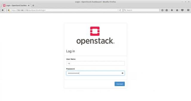 Configure OpenStack Networking - OpenStack User Login