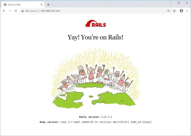 Rails Application Running on Ubuntu 20.04
