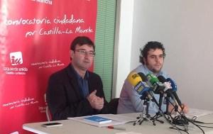 Daniel Martínez y Jacobo Medianero rueda de prensa en Alcazar de San Juan