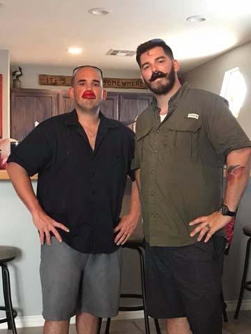 L81 TJ Graham and Jarold Kraft on vacation