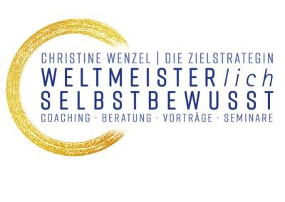 Logo für Deutschlands erfolgreichste Sportschützin: Christine Wenzel
