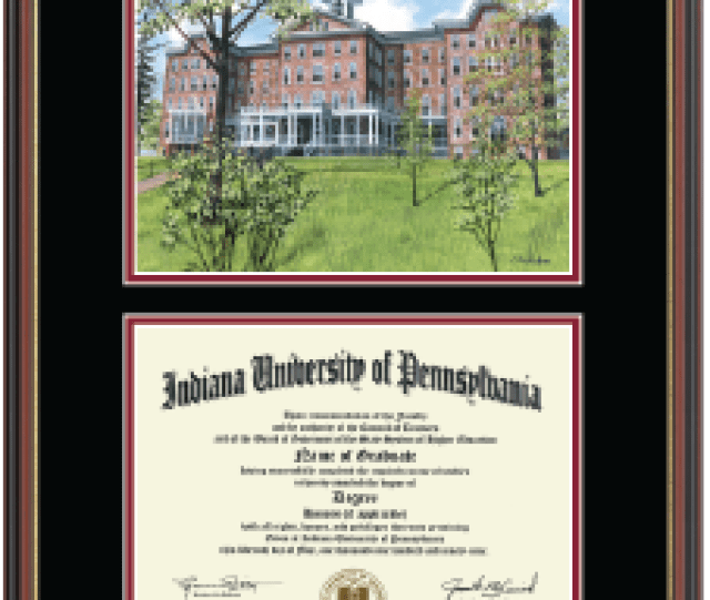 Framing Success  C B Diploma Frame