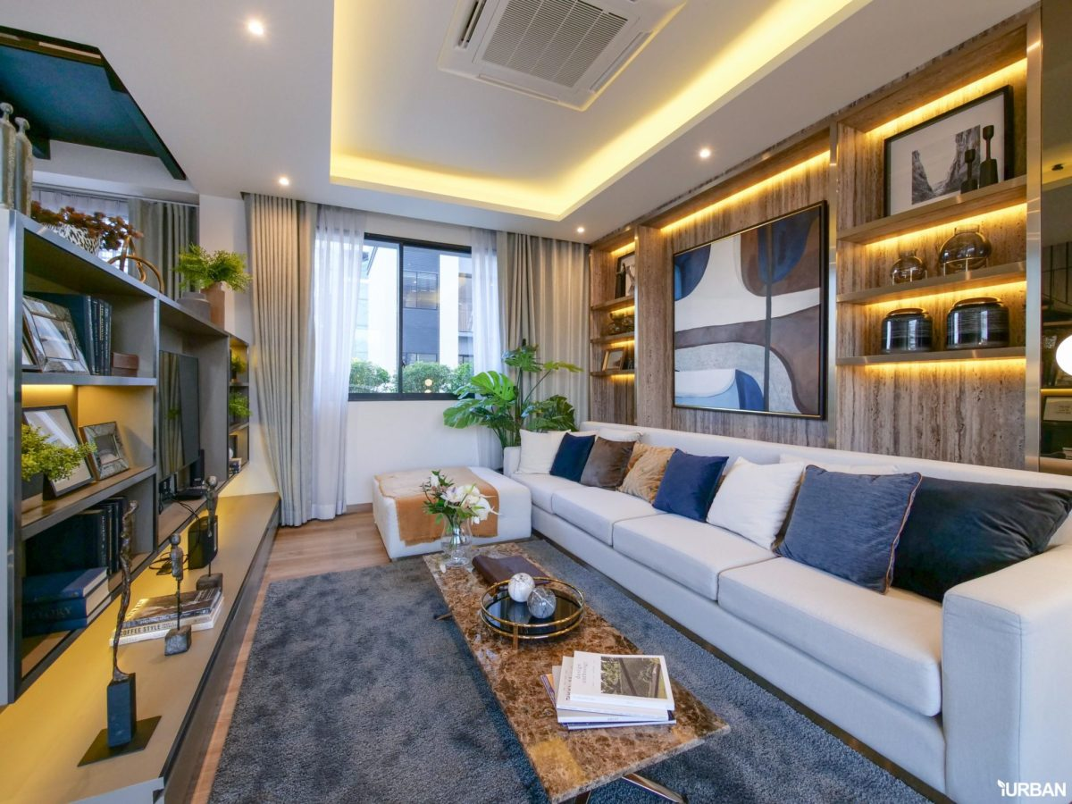 AIRES RAMA9 รีวิว Luxury Townhome 3.5 ชั้น + Rooftop ออกแบบสวย ย่านพระราม9 (ใกล้ รพ.สมิติเวช) 41 - AIRES