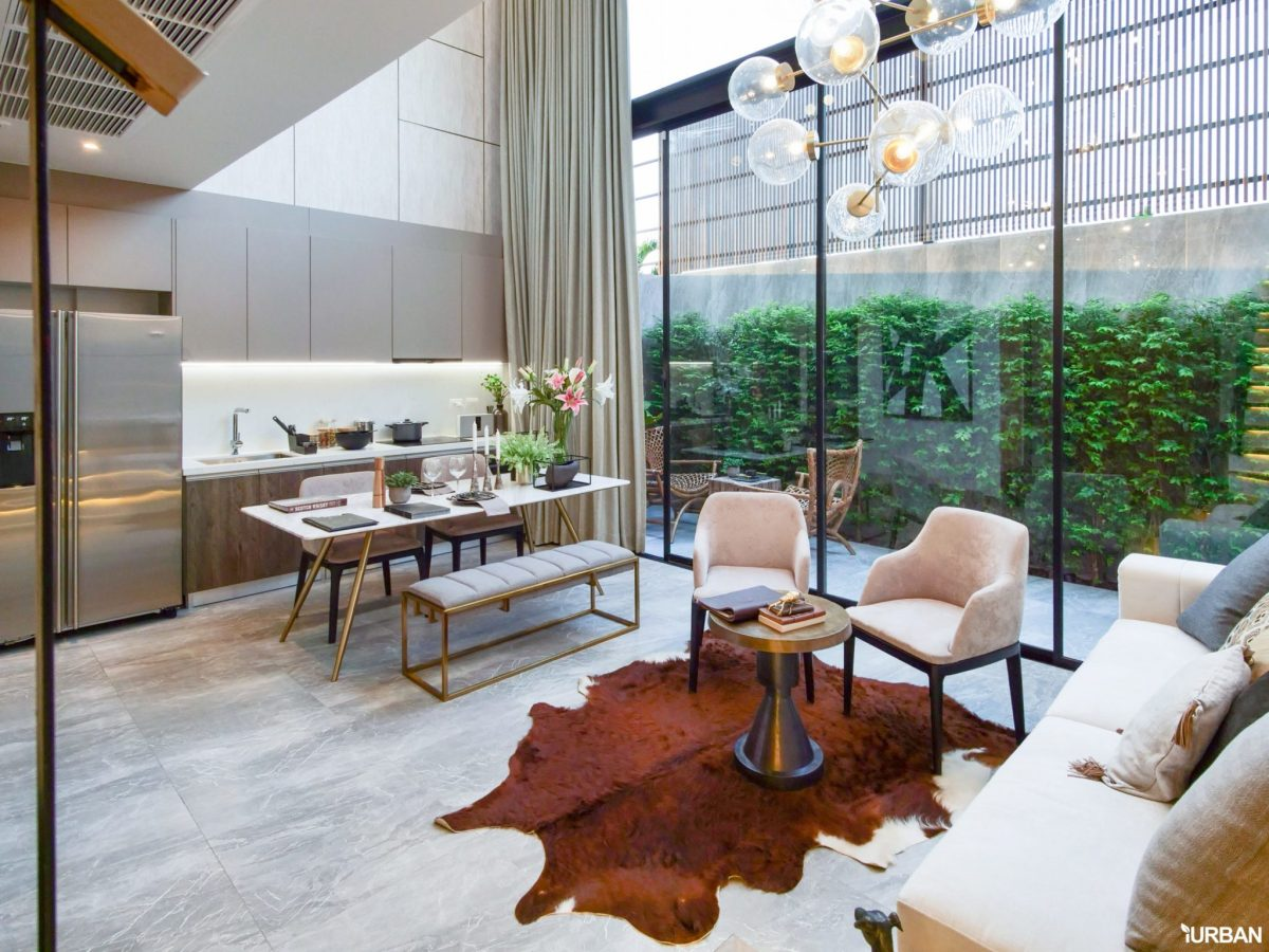 AIRES RAMA9 รีวิว Luxury Townhome 3.5 ชั้น + Rooftop ออกแบบสวย ย่านพระราม9 (ใกล้ รพ.สมิติเวช) 26 - AIRES