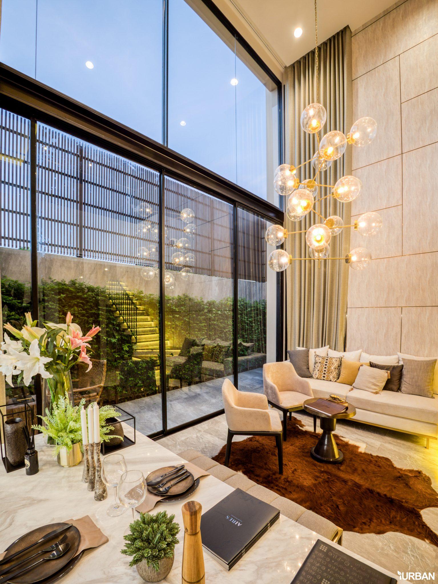 AIRES RAMA9 รีวิว Luxury Townhome 3.5 ชั้น + Rooftop ออกแบบสวย ย่านพระราม9 (ใกล้ รพ.สมิติเวช) 30 - AIRES
