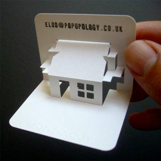 20 ตัวอย่างนามบัตรออกแบบสุดครีเอทีฟ จากเหล่าสถาปนิก 14 - Architecture