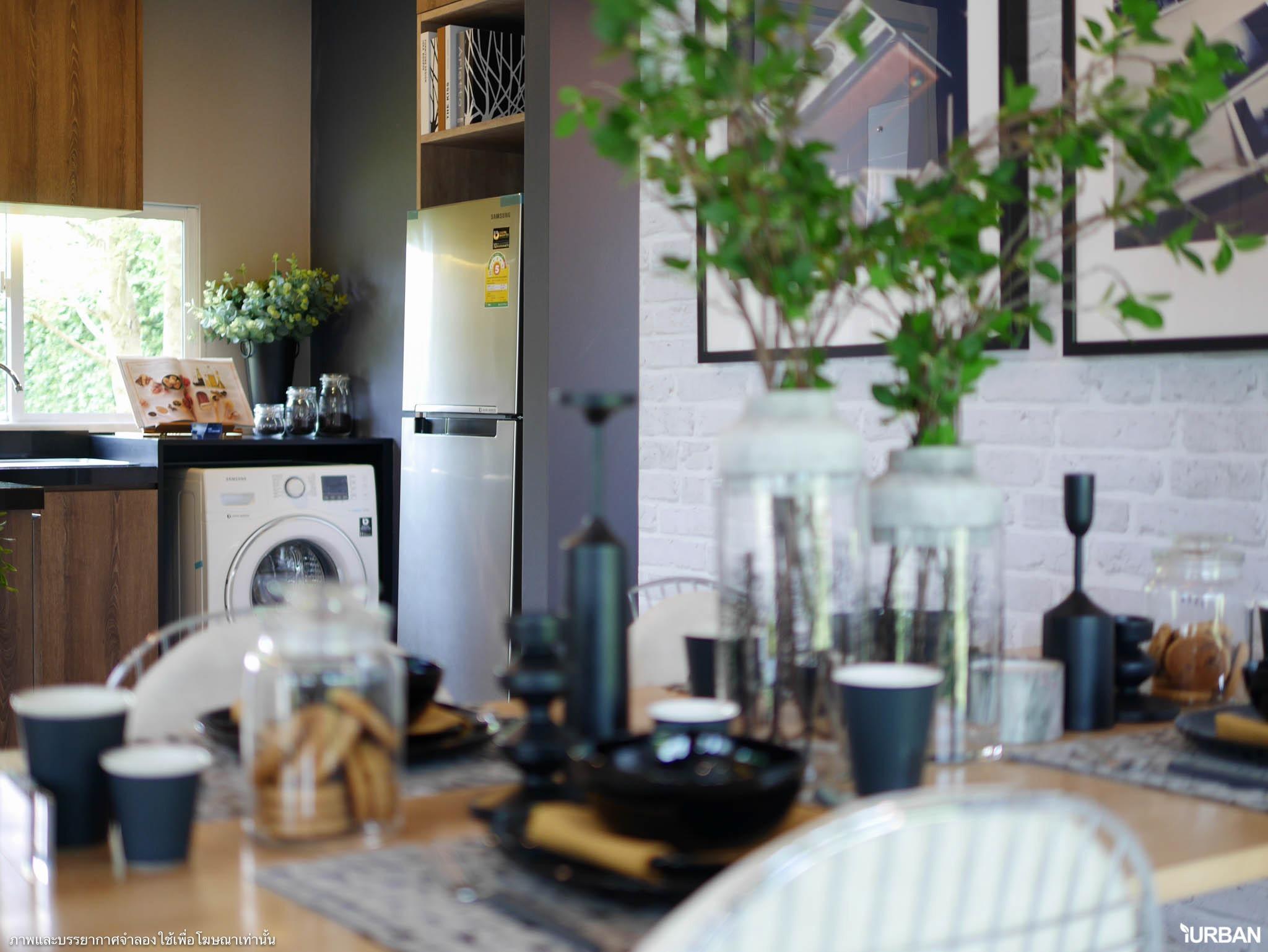 The Plant เทพารักษ์-บางนา ชมบ้านตัวอย่างและรีวิวโครงการ บ้านเดี่ยวดีไซน์สวย ทำเลดีใกล้ห้างและตลาด เริ่ม 3.8 ล้าน 33 - Megabangna (เมกาบางนา)