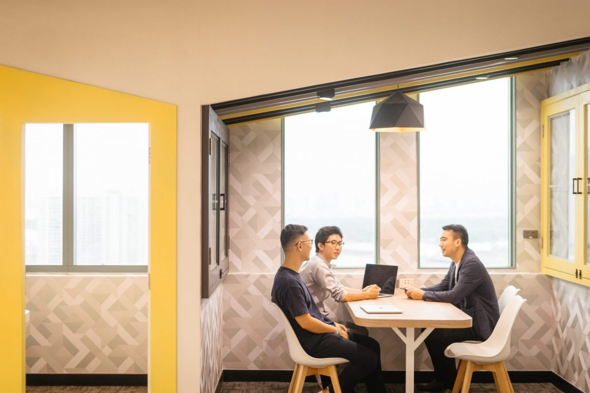 """ออฟฟิศแนวคิดใหม่ สุดฮิปของชาวกรุงศรีฯ ในสไตล์ """"Co-Working Space ที่ให้งาน Finish แบบไม่ติดสตั้นท์"""" 4 - Bank"""