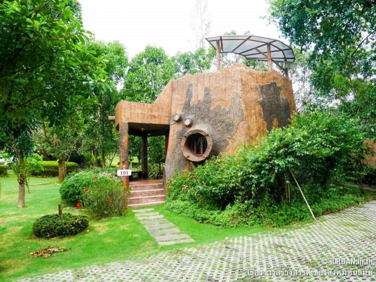 ชีวิตในโพรงไม้ ติดเขา บ้านขอนไม้ @Theerama Cottage สวนผึ้งรีสอร์ท 21 - 100 Share+