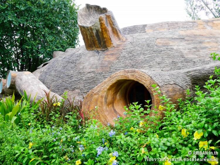 ชีวิตในโพรงไม้ ติดเขา บ้านขอนไม้ @Theerama Cottage สวนผึ้งรีสอร์ท 18 - 100 Share+