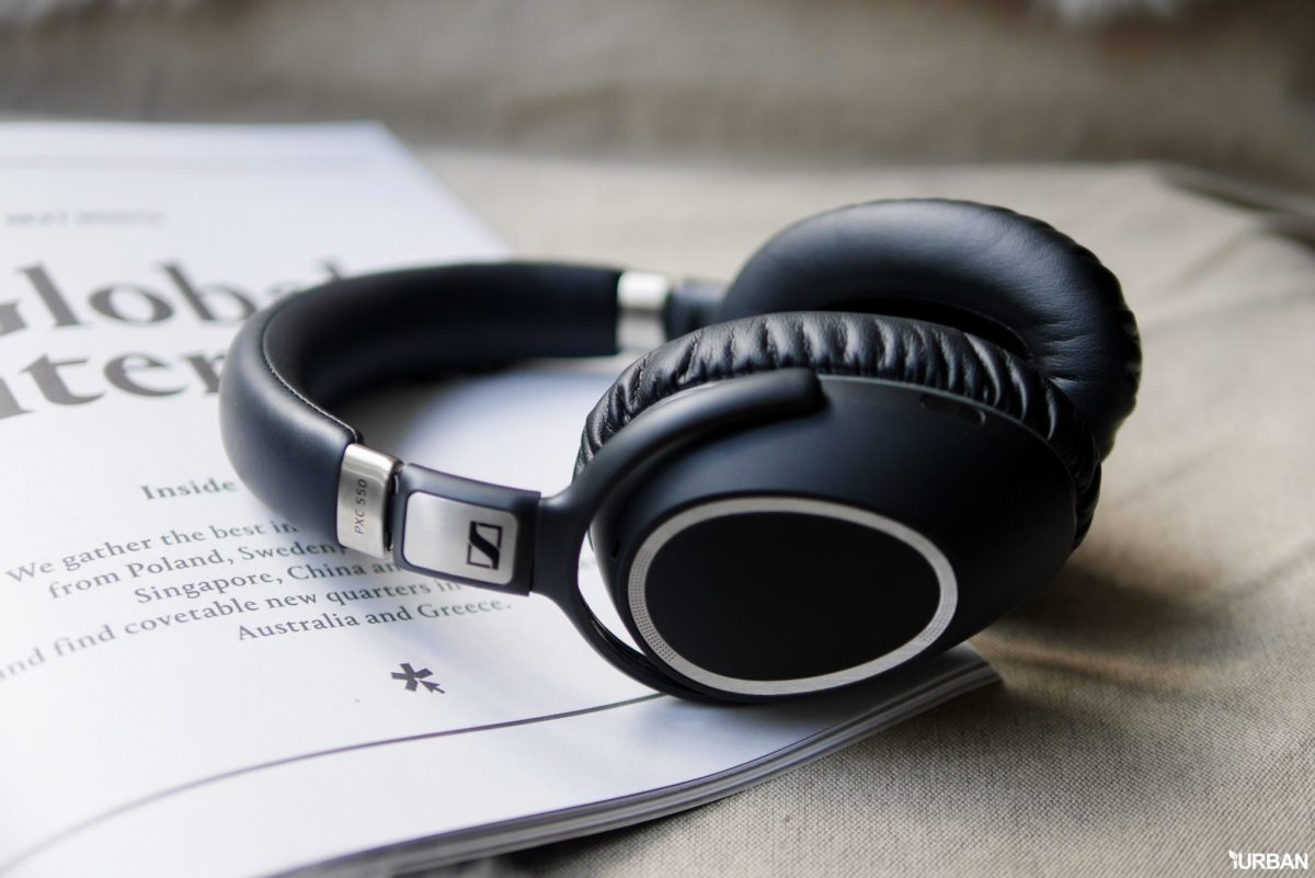 sennheiser 3 รีวิว Sennheiser PXC 550 Wireless หูฟังอัจฉริยะระดับเฟิร์สคลาส คู่ใจสำหรับนักเดินทาง