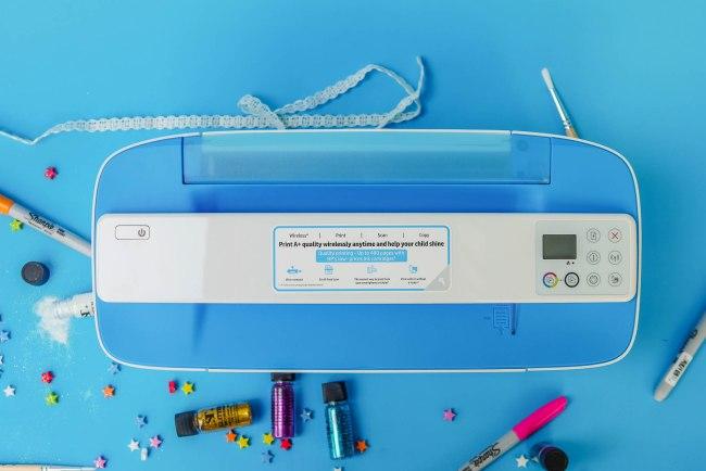 HP3775sandcolor12 750x500 HP Deskjet 3775 รีวิวปริ้นเตอร์ All in One (Print/Scan/Copy) ขนาดเล็กที่สุดในโลก มาพร้อมราคาระดับนักเรียน