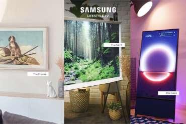 รีวิว 3 ทีวีที่สวยที่สุดเจนเนอเรชั่นนี้ The Frame The Serif และ The Sero 5 - decor
