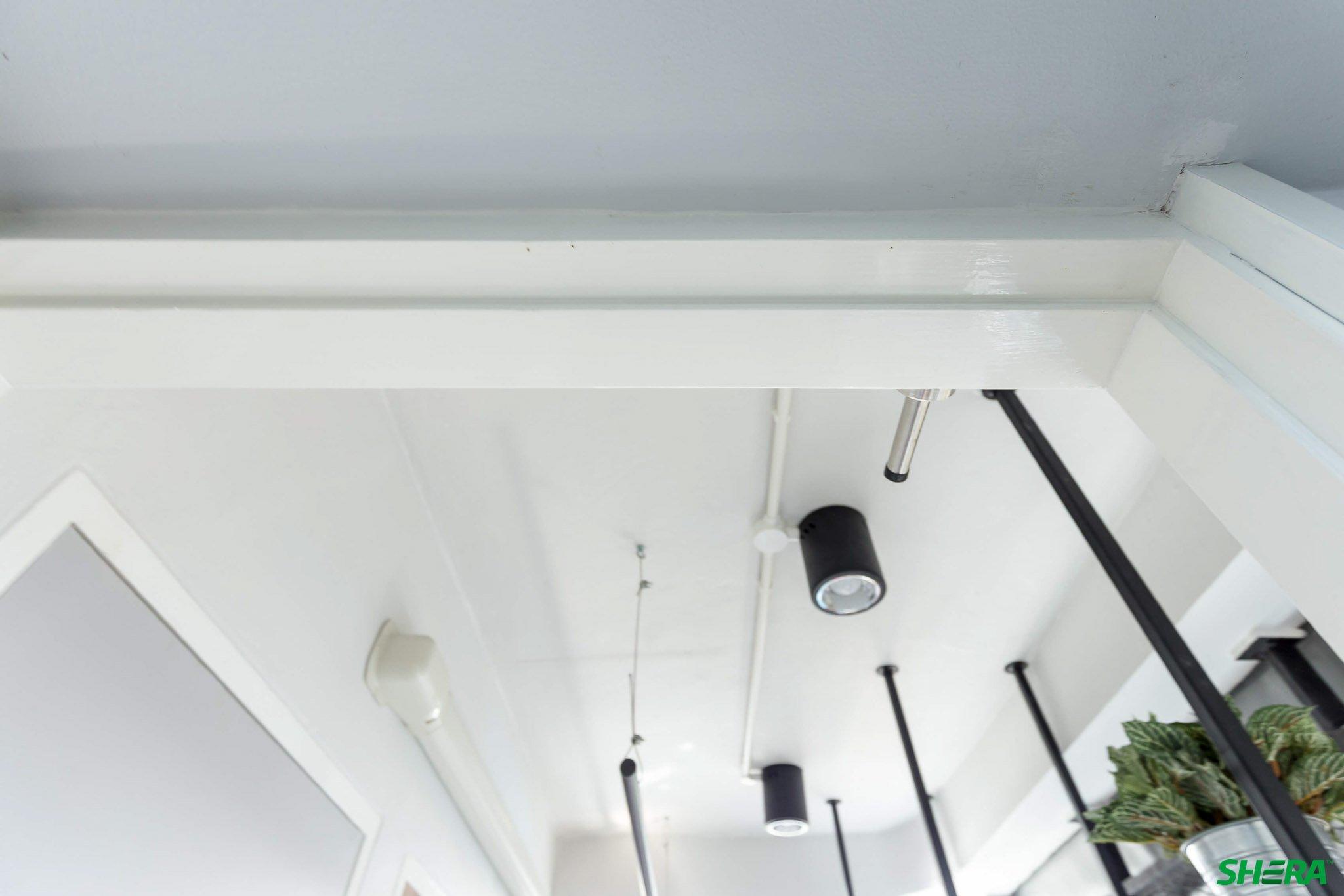 รีโนเวทบ้าน แปลงคอนโดเก่าเป็นสไตล์ Loft และประตูสวยทนด้วยไฟเบอร์ซีเมนต์จาก Shera 36 - fiber cement wood