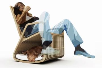 Rocking Chair Hybrid Furniture 7 - Creative