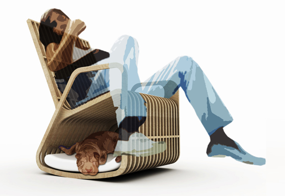 Rocking Chair Hybrid Furniture 31 - INSPIRATION