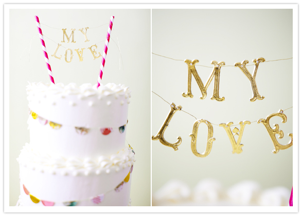 %name Crafty cake toppers