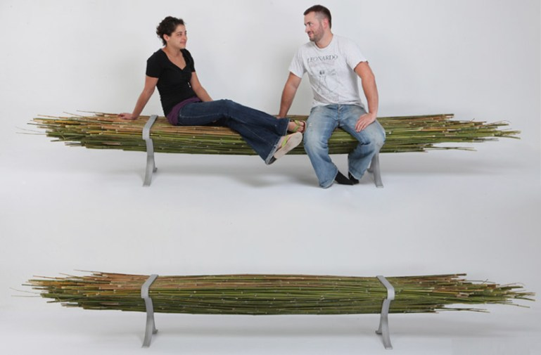 Bamboo bench 13 -
