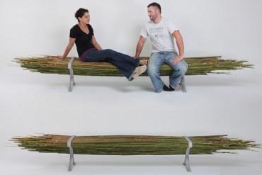 Bamboo bench 32 -